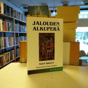 Matt Ridley - Jalouden alkuperä - Epäitsekkyyden ja yhteistyön biologia