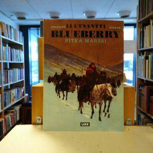 Jean-Michel Charlier, Jean Giraud - Luutnantti Blueberry - Pitkä marssi Like, 1992, 48s., nidottu pehmeäkantinen albumi Kuntoluokka 3-4