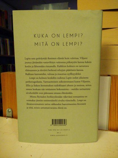Minna Rytisalo - Lempi