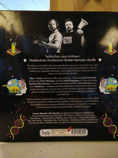 Riku Rantala, Tuomas Milonoff - Madventures - Maailmanselitys, seikkailijan käsikirja kaikkeen