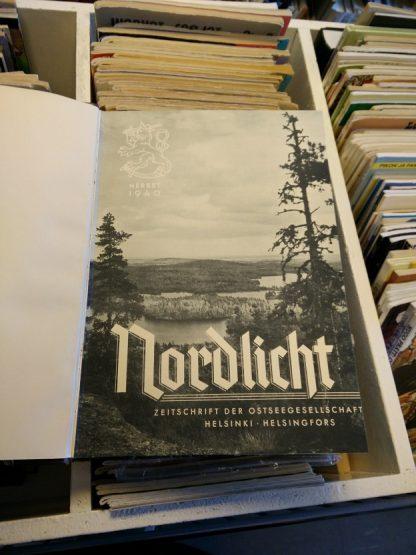 Nordlicht 1940-42 - Zeitschrift der ostseegesellschaft