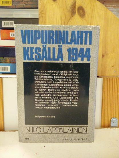 Niilo Lappalainen - Viipurinlahti kesällä 1944