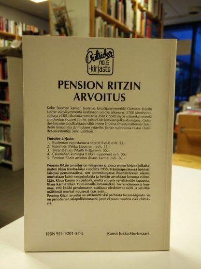 Outsider - Pension Ritzin arvoitus