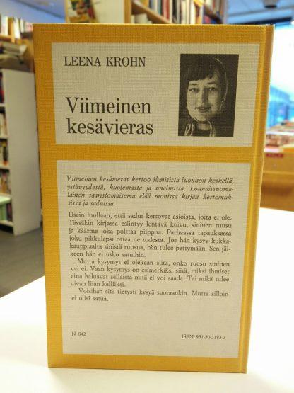 Leena Krohn - Viimeinen kesävieras