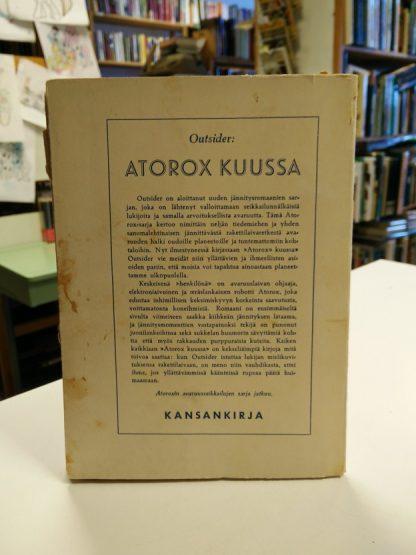 Aarne Haapakoski (Outsider) – Atorox Kuussa