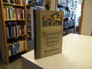 Händelserna i Finland under Krimkriget åren 1854-1855 (Hugo Schulman)