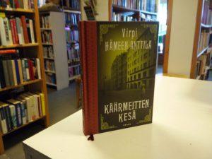 Hämeen-Anttila, Virpi - Käärmeitten kesä