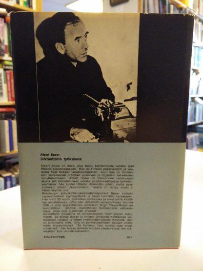 Albert Speer - Diktaattorin työkaluna