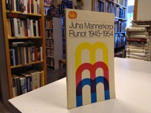 Mannerkorpi, Juha - Runot 1945-1954