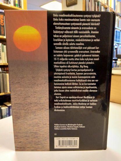 Tyhjästä syntynyt - Nykytieteen käsitys maailmankaikkeuden rakenteesta (Kari Enqvist, Jukka Maalampi)