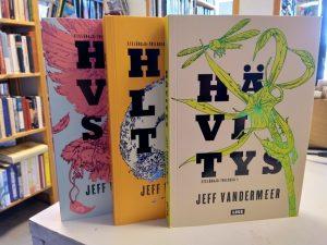 VanderMeer, Jeff - Eteläraja-trilogia (Hävitys, Hallinta, Hyväksyntä)