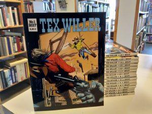 Tex Willer vuosikerta 2017 (1-16)