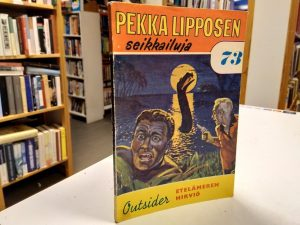 Pekka Lipposen seikkailuja 73 - Etelämeren hirviö (Outsider)
